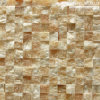 Flooring及びWall Decoration (mm011)のための黄色いOnyx Mosaic Tiles
