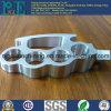 Kundenspezifische hohe Präzisions-maschinell bearbeitende Aluminiumselbstersatzteile