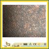 Galettes bronzages bon marché de granit de Brown pour la partie supérieure du comptoir/Vanitytop/plancher/le pavage