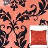 Flocage du tissu de Dupioni pour des caisses d'oreiller