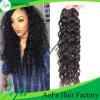 100% unverarbeitete Jungfrau-brasilianischer lockiges Haar menschlicher Remy Haar-Einschlagfaden