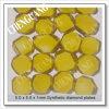 5*5*1mm Bright Yellow Diamond Plate, Large Sizeand Synthetic Diamond Plates