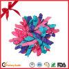 Смычок тесемки Organza сплошного цвета украшения завивая