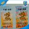 Etiqueta engomada antifalsificación del indicador de humedad, etiqueta engomada sensible de la humedad