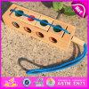 2015 puzzle di legno del giocattolo di intelligenza, giocattolo di legno educativo di puzzle, giocattolo di legno W01A142 di puzzle