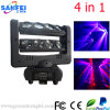 8*10W диско СИД Moving Head 4in1 Stage Effect Lighting