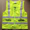 maglia riflettente gialla infiammante di sicurezza dell'OEM di 24PCS LED