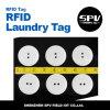 Tag personalizado da lavanderia do estrangeiro H4 860-960MHz RFID PPS