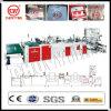 Automatischer vier Funktions-Plastikhandgriff-Beutel, der Maschine herstellt