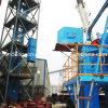 Transportador del material/del cemento de construcción del elevador de cubo