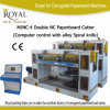 Spiral Knife (MJNC-4)를 가진 두 배 Carton Paperboard Cutting Machine