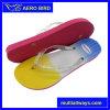 Новая цветастая тапочка PE с планкой студня яркия блеска (T1645)