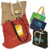 Promover sacos Foldable do algodão do Tote da tintura