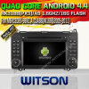 Witson Android 4.4 System Car DVD voor Mercedes-Benz een Class (W169) (W2-A6916)