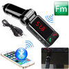 Dual USB /Car Charger를 가진 Bluetooth Car MP3 Player FM Transmitter