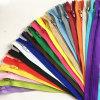 Chiusura lampo di nylon del metallo dei denti di #7 O/E/a/L per i pantaloni del rivestimento dei vestiti