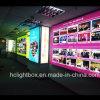 Grandi segni del LED che fanno pubblicità al blocco per grafici Backlit LED