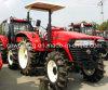 аграрный трактор 90HP с покрышками ленточной резьбы