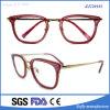 De nieuwe Glazen van de Acetaat van de Mode van de Mannen van de Vrouwen van de Glazen van het Oog van de Frames van de Manier van het Ontwerp Optische