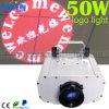 30W 50W que gira a luz do efeito da projeção do Gobo do logotipo do diodo emissor de luz