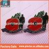 Haciendo alta calidad el nuevo metal divisa popular de la solapa de la amapola del día de la conmemoración de la flor de la amapola de la venta de la fábrica