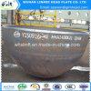 Q345r Kohlenstoffstahl-angerichtete Becken-Köpfe für Rohrfittings