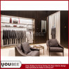 Accesorios de lujo de la exhibición para el diseño de tienda al por menor del Menswear