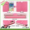 iPhone 6/6s más la caja del teléfono celular del cuero del tirón del color sólido (RJT-0191)