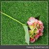 Preiswerte künstliche Hochzeits-Blumen-Kopf-Anordnungs-Schwarz-Rosen