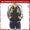 カスタム新しいデザイン卸売の安い綿の学校代表のジャケットの女性(ELTBJI-9)