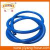 Tuyau bleu à nervures à haute pression de jet de PVC