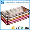 Cubierta suave transparente de parachoques de la caja del teléfono de la galjanoplastia de lujo al por mayor TPU para la galaxia A7 (2016) A710 de Samsung