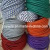 Цветастый оплетенный провод ткани (плоский/круглый)