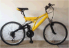 24 OEM dobro da bicicleta de montanha da velocidade da suspensão 21 da polegada (YK-MTB-058)