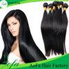 Peluca india del pelo de la Virgen sin procesar al por mayor del pelo humano