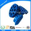 Коническое зубчатое колесо впрыски PTFE пластичное