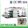 PE Film Flexo Printing Equipment de Ytb-61200 6colors High Speed