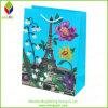 Sac de produit de beauté de papier d'imprimerie de fleur de mode