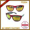 Óculos de sol coloridos baratos F6304 da lente da forma
