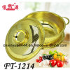 Lid (FT-1214)를 가진 3 PCS Stainless Steel Gold Colander