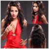 Wave natural Lace suizo Fashionable Party Wigs para los afroamericanos (HL10822)