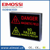 LED Duplo Cores Dim Method X-ray Danger Sign