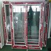 Одиночное Clear Glass UPVC Sliding Window для Projects