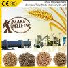 草の餌の生産ライン5T/Hの生物量のわらの餌のプラントを完了しなさい