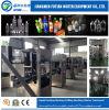Machine à étiquettes de douille automatique de rétrécissement de bouteille d'animal familier de jus