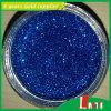 Serie olografica della polvere di scintillio con l'azzurro uno