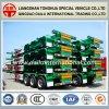 Skelett-halb LKW-Schlussteil für 40FT/20FT Behälter-Transport