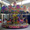 Giro variopinto del carosello della Turchia dei giocattoli del parco di divertimenti dei capretti