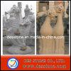 Découpage en pierre normal avec la sculpture en pierre animale (DES-SH019)