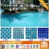 De blauwe Tegel van het Mozaïek van het Porselein van het Zwembad van de Kleur (C648009)